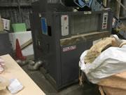 中古 発泡スチロール溶融機(50kg/h)